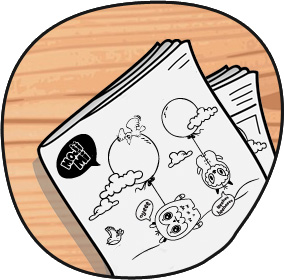 Curious Coloring Pages